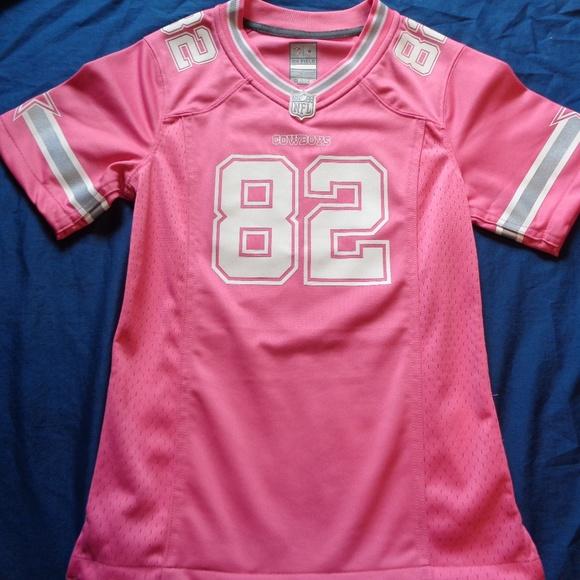 super popular 4b862 c1179 Dallas Cowboys Pink Jason Witten jersey Large